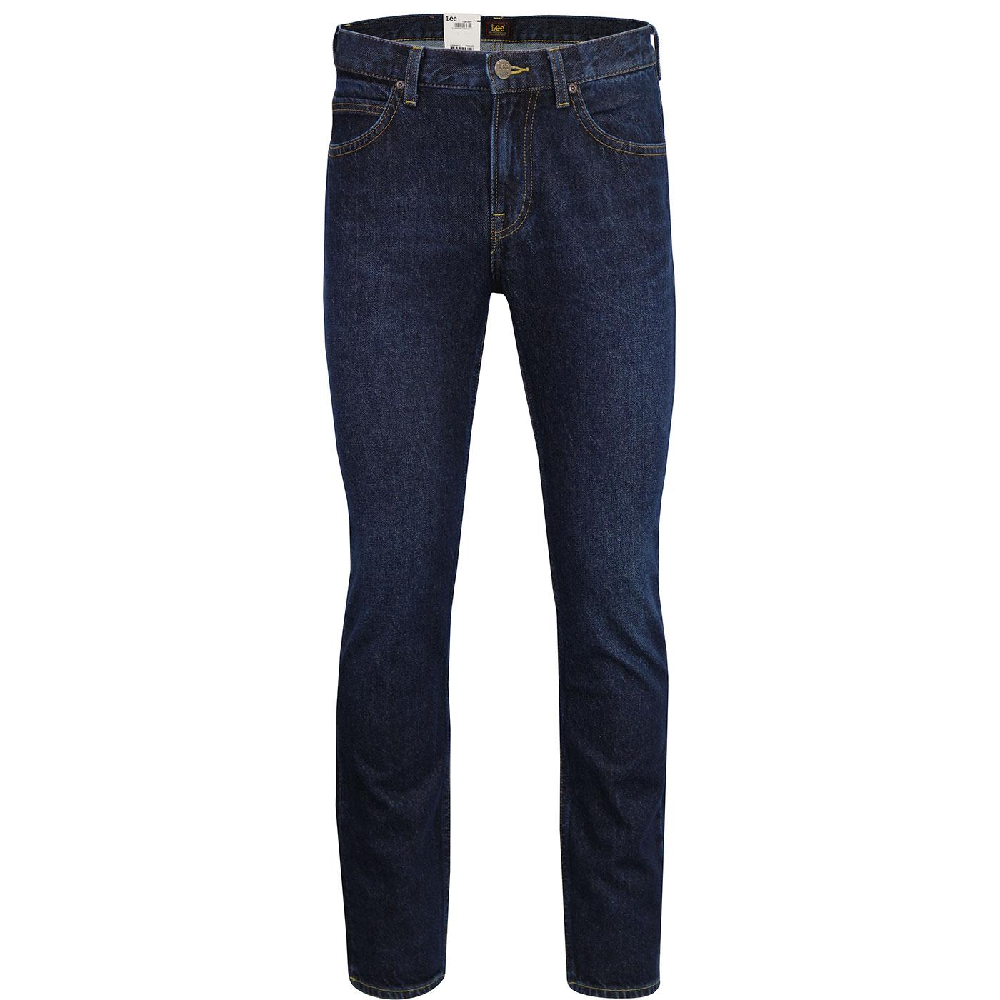 Rider LEE Slim Leg Retro Dark Buck Denim Jeans
