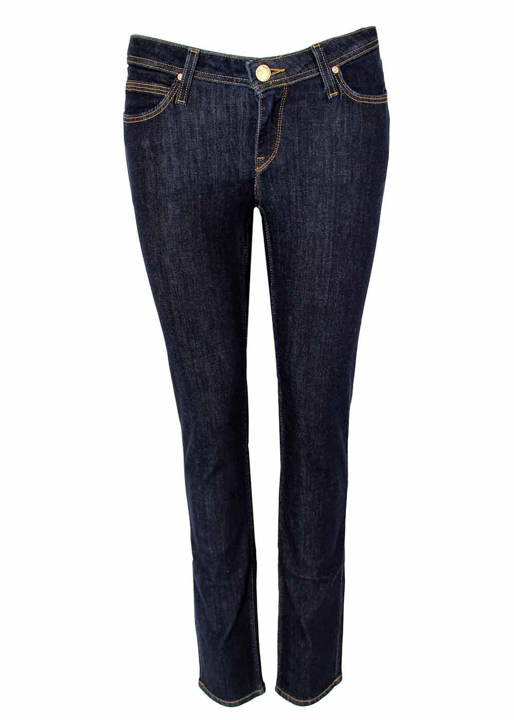 Emlyn LEE Retro Straight Tapered Fit Denim Jeans