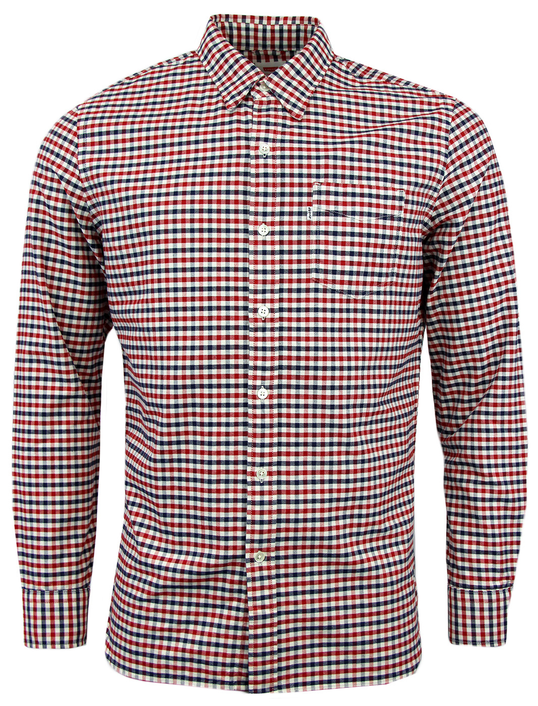 Sunset LEVI'S® Retro Mod 1960s Gingham Shirt