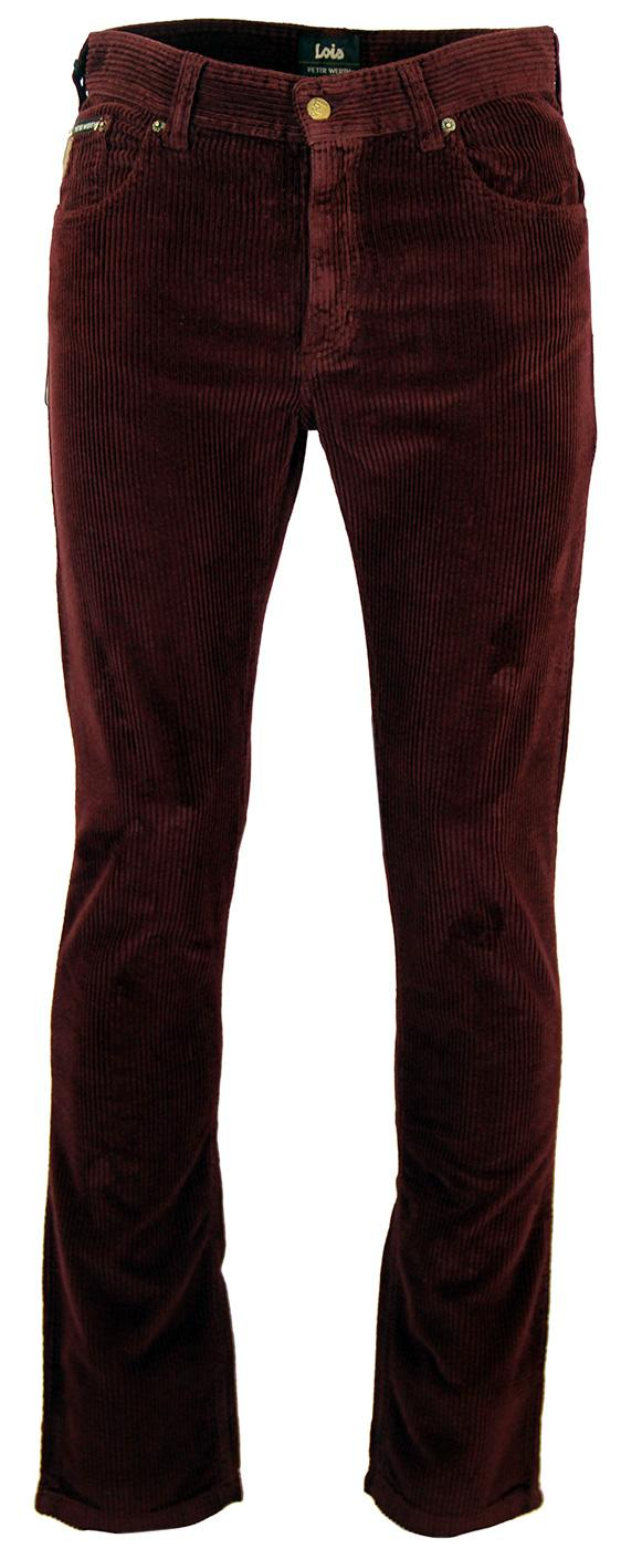 LOIS X PETER WERTH Retro Jumbo Cord Trousers