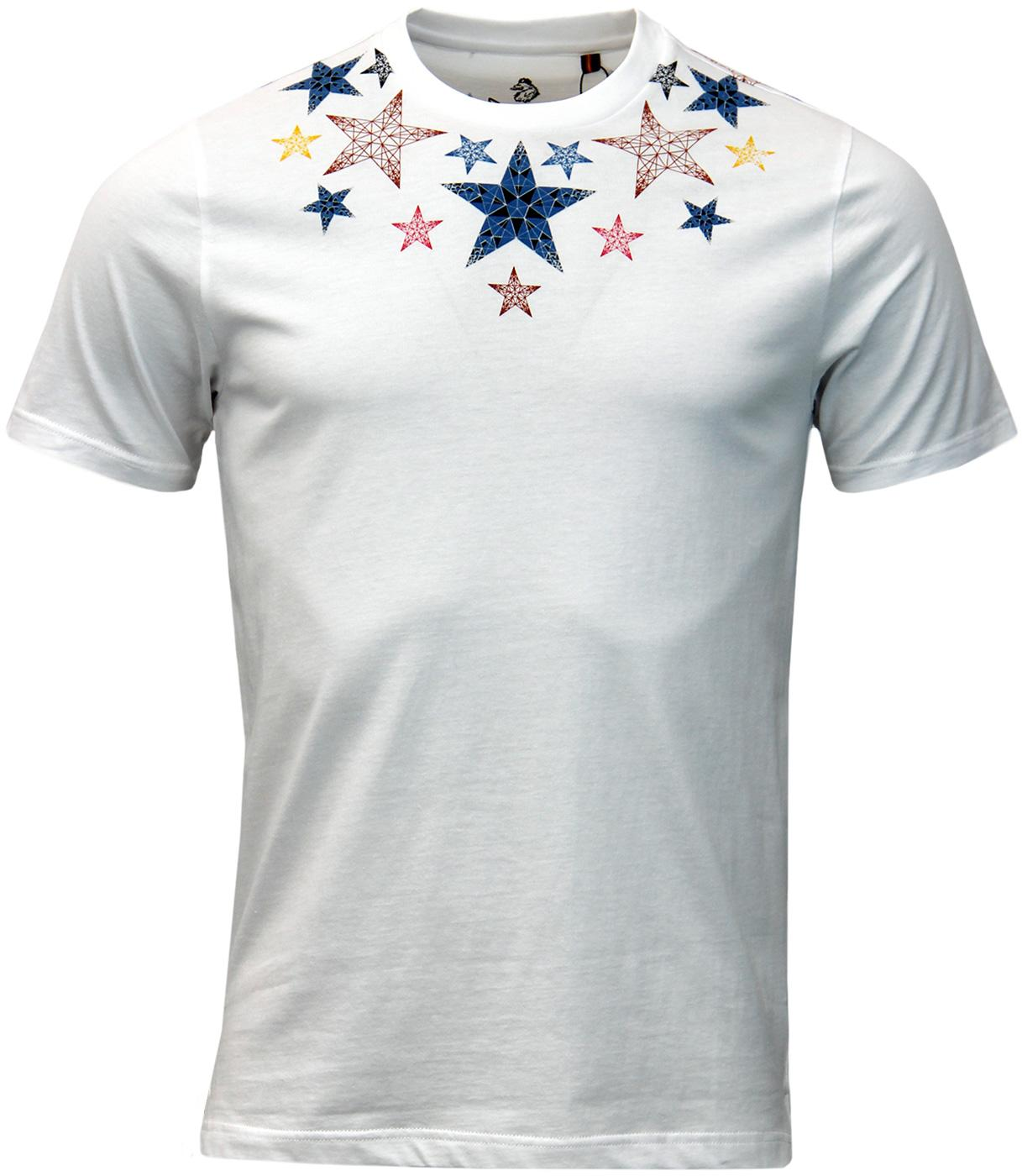 Half Uncle LUKE 1977 Retro Psychedelic Star Tee