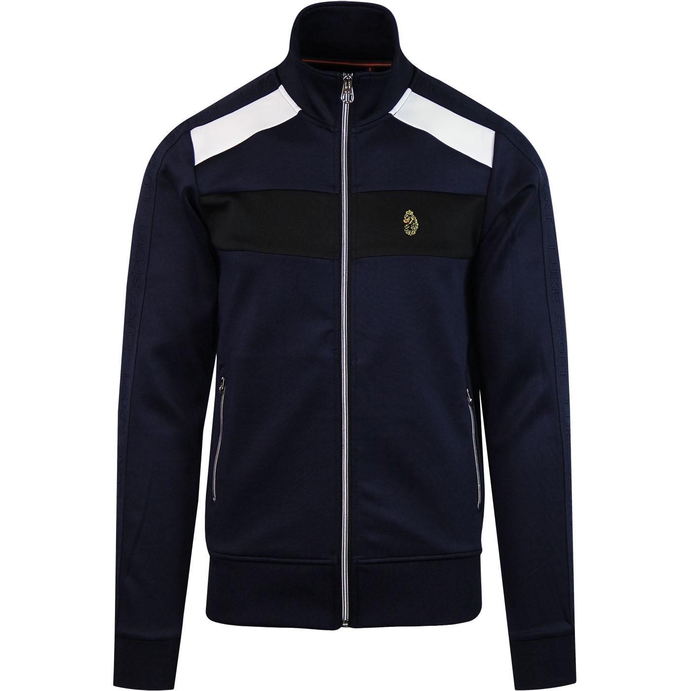 Larkwood LUKE Mens Retro Panel Track Jacket (N)