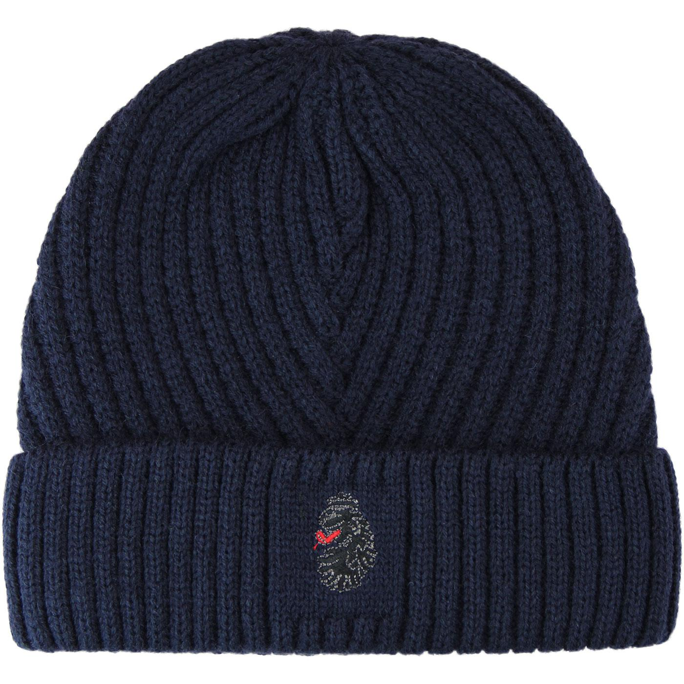 Osh LUKE 1977 Retro Ribbed Knitted Beanie Hat