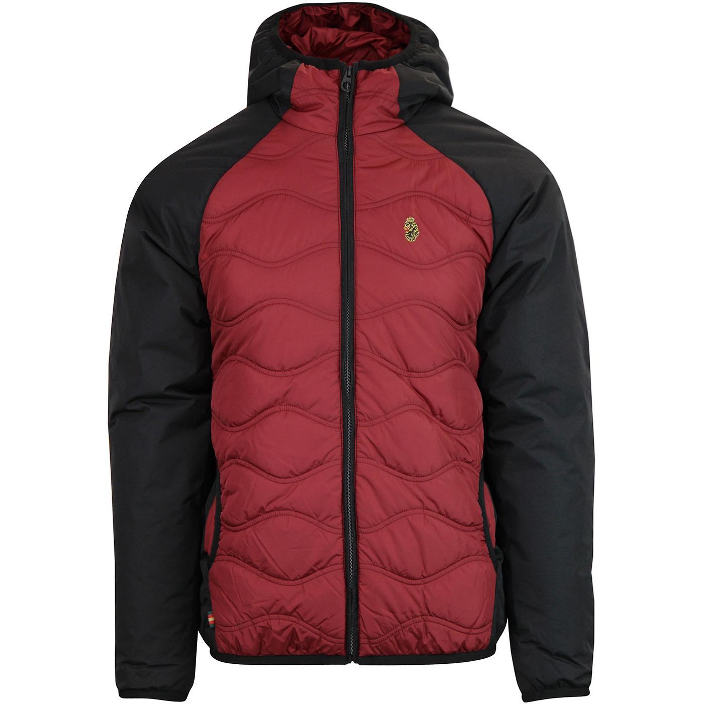 Roundy LUKE Retro Men's Quilted Ski Jacket (B/R)