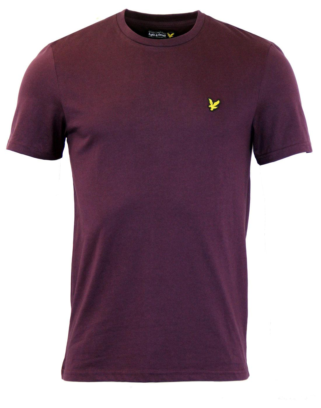 Cotton Crew Neck LYLE AND SCOTT Retro Mod T-shirt