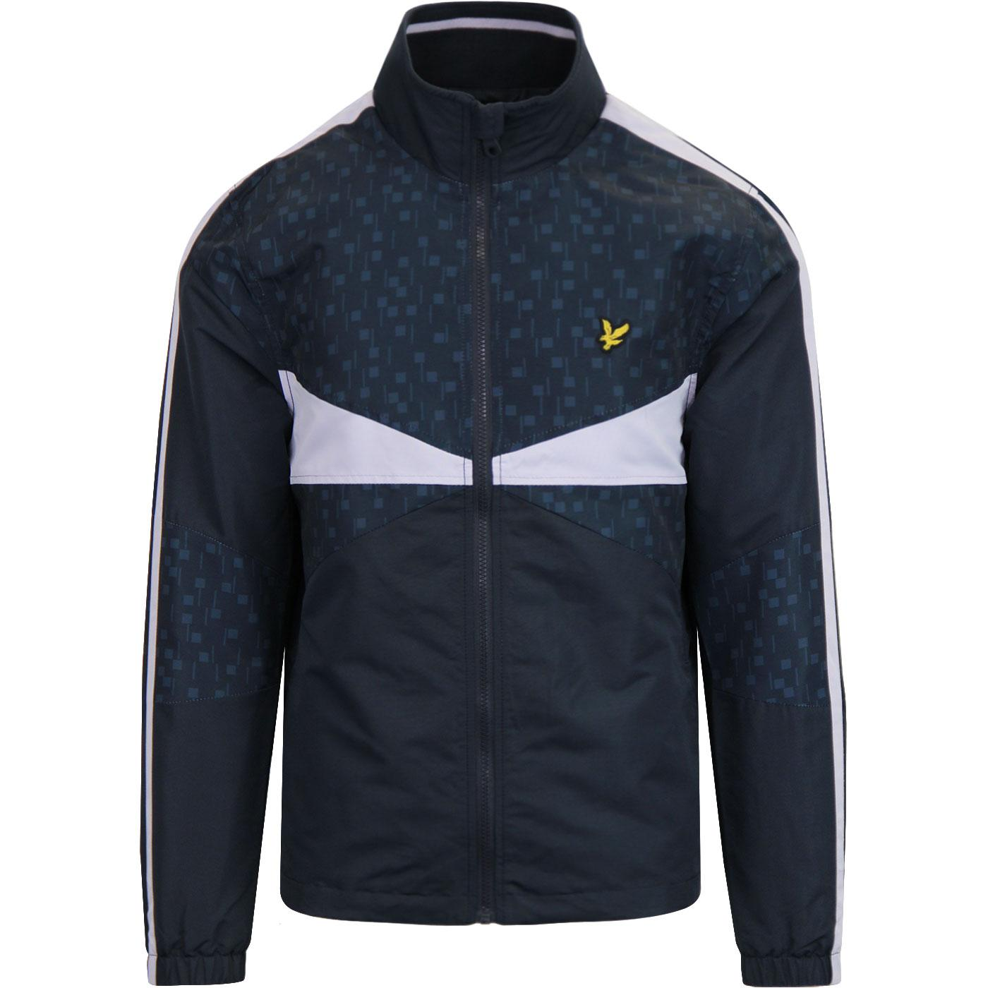 LYLE & SCOTT Tile Print Indie Colour Block Jacket
