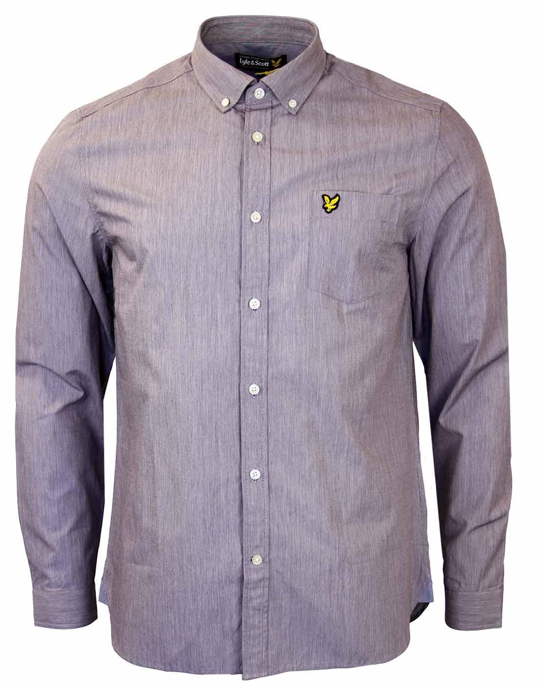 LYLE & SCOTT Mod Button Down End On End Shirt