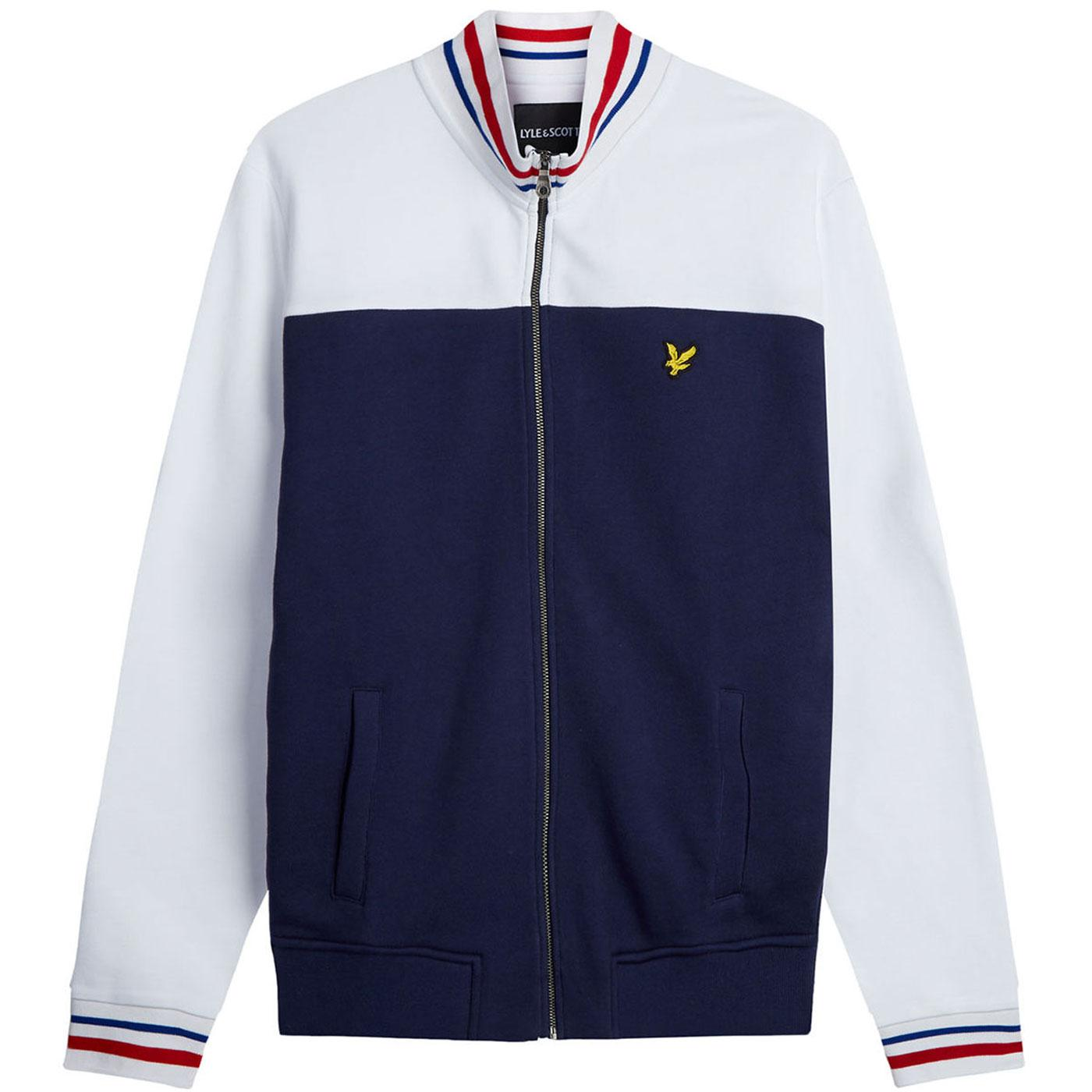 LYLE & SCOTT Retro Indie Tipped Track Top