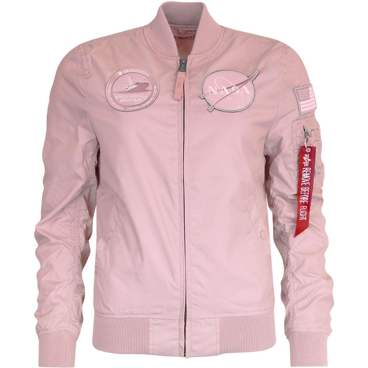 ALPHA INDUSTRIES MA-1 TT Nasa Reversible Jacket