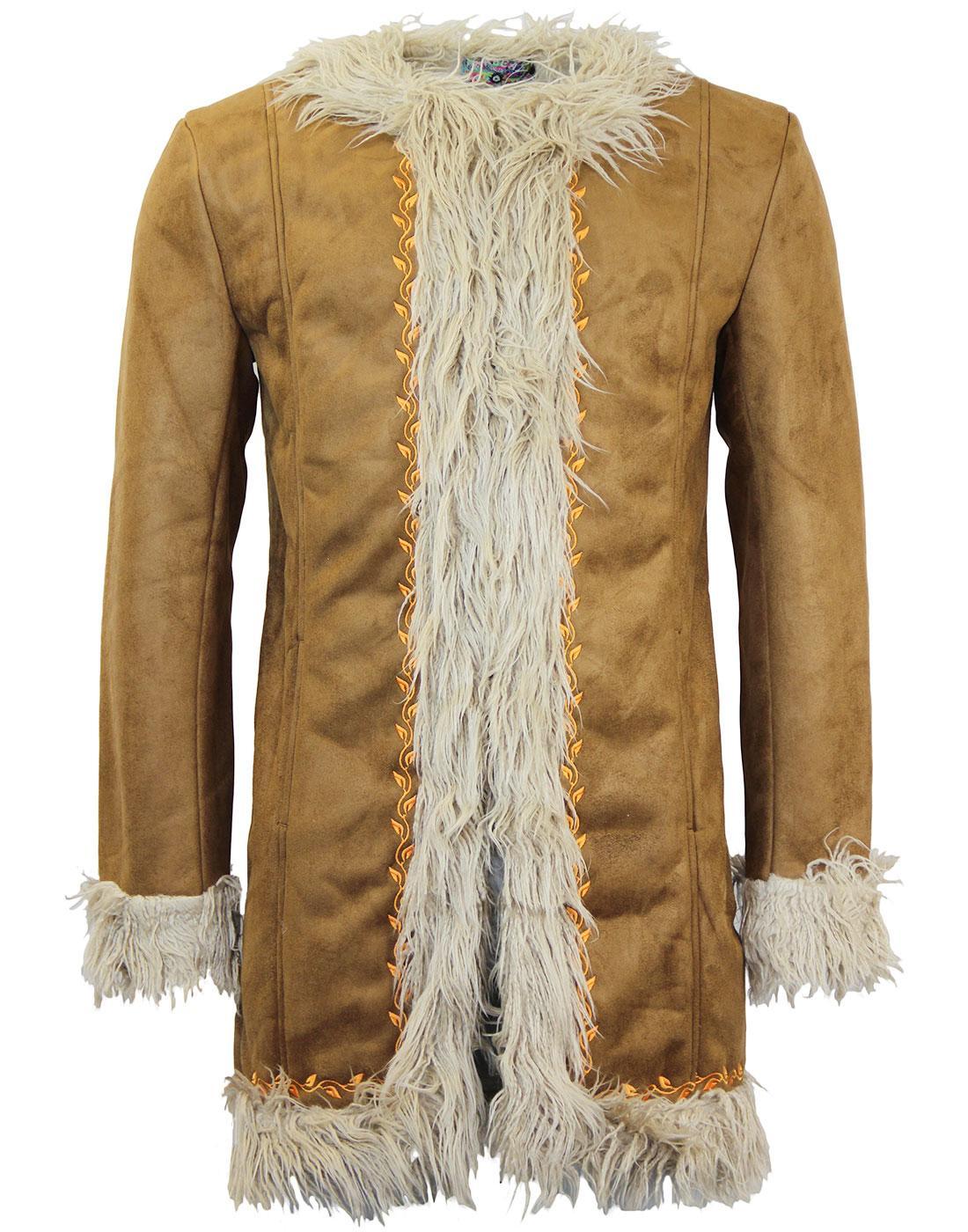 Instant Karma MADCAP ENGLAND Retro 60s Afghan Coat