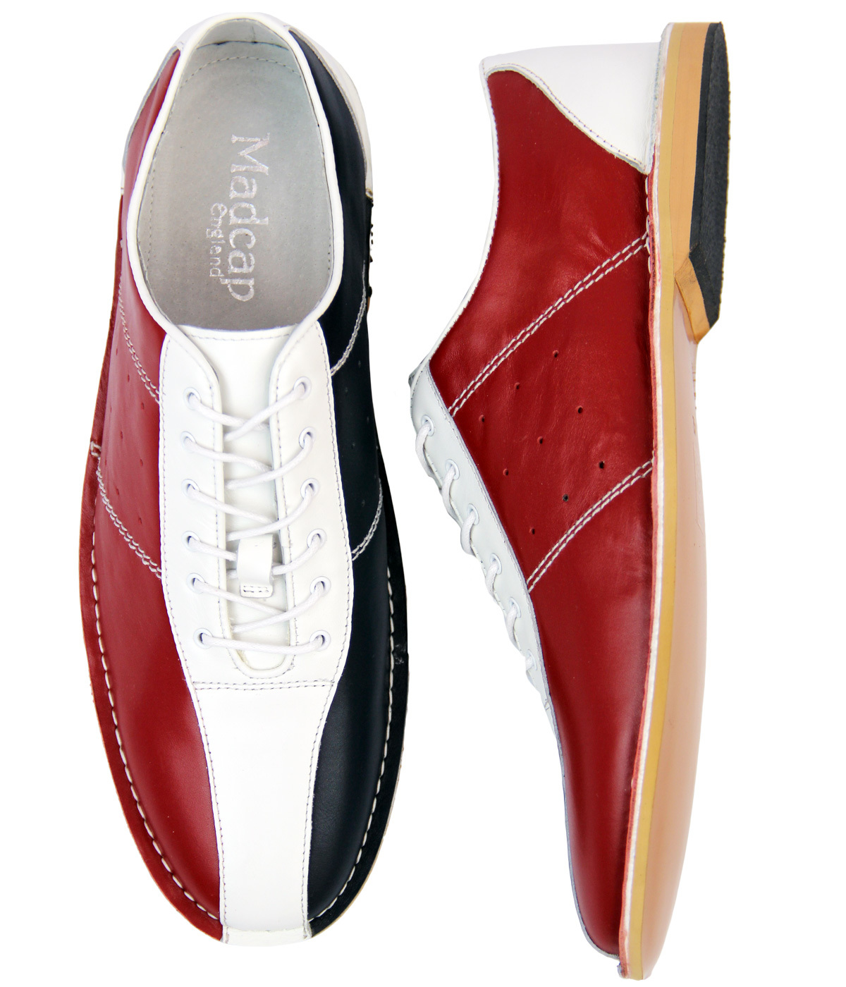 60s Style Shoes Bowling shoe look a