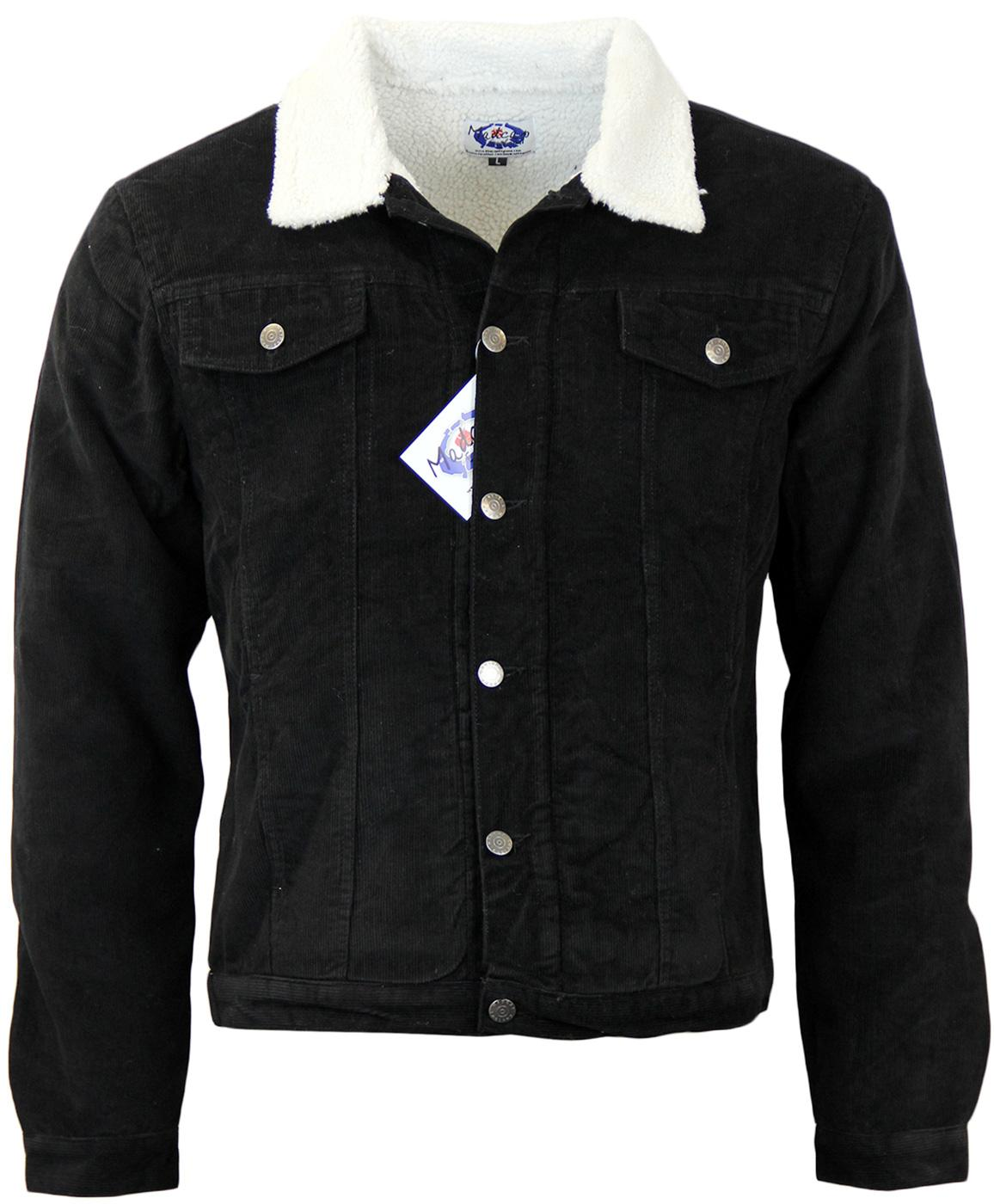 Contender MADCAP ENGLAND Sherpa Lined Jacket BLACK