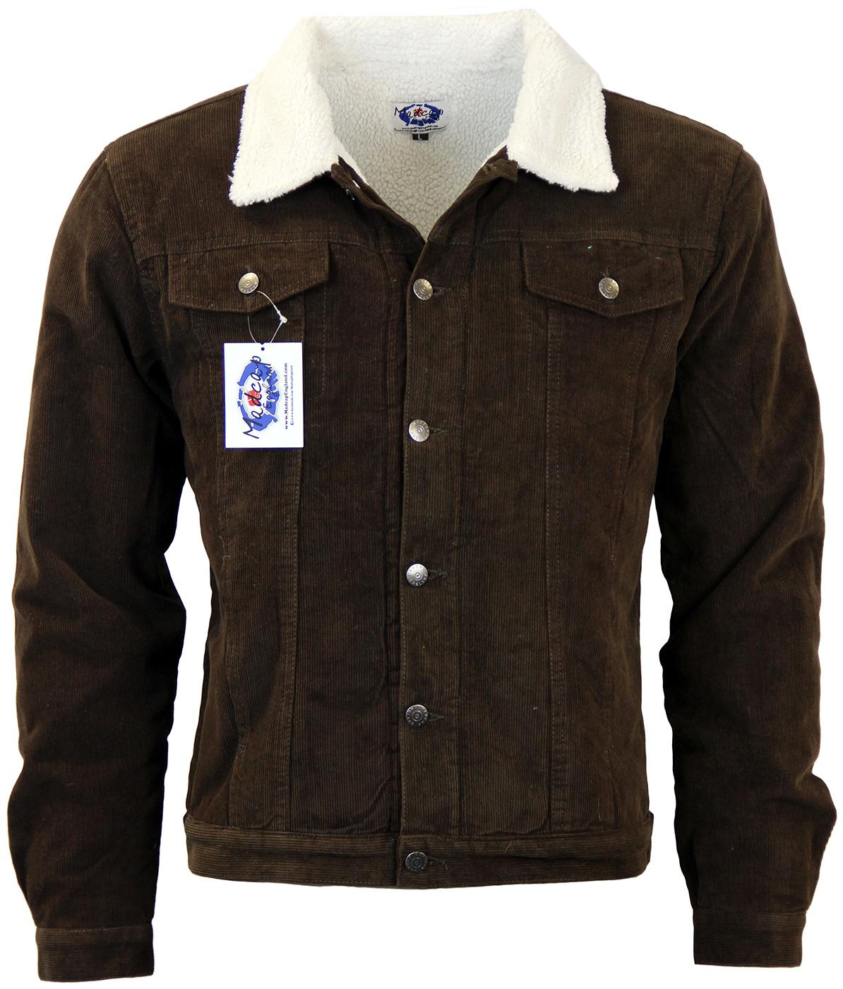 Contender MADCAP ENGLAND Retro Sherpa Lined Jacket
