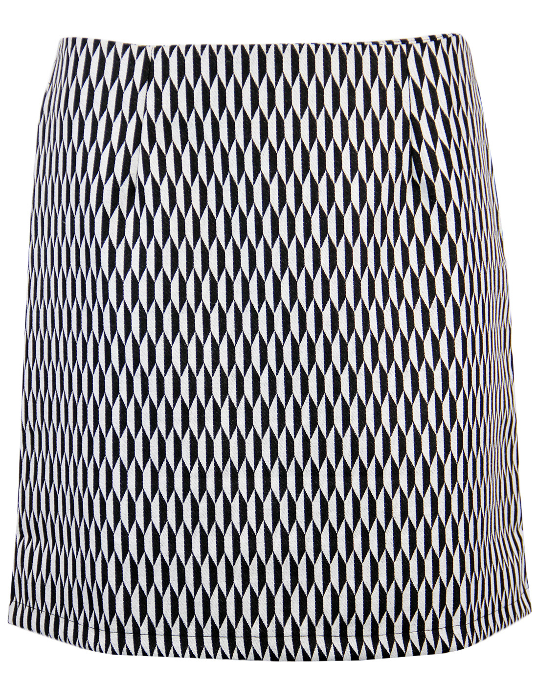 Karina MADCAP ENGLAND Retro Mod Op Art Mini Skirt
