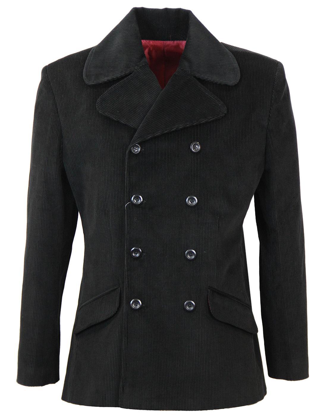 Rare Breed Suit MADCAP ENGLAND 60s Mod Suit- Black