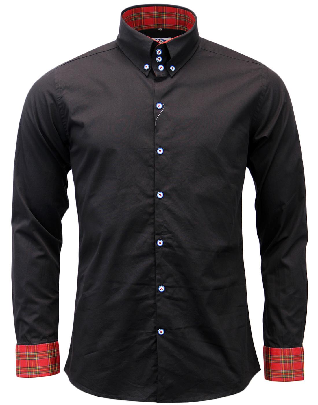 The Whiskey MADCAP ENGLAND High Collar Mod Shirt