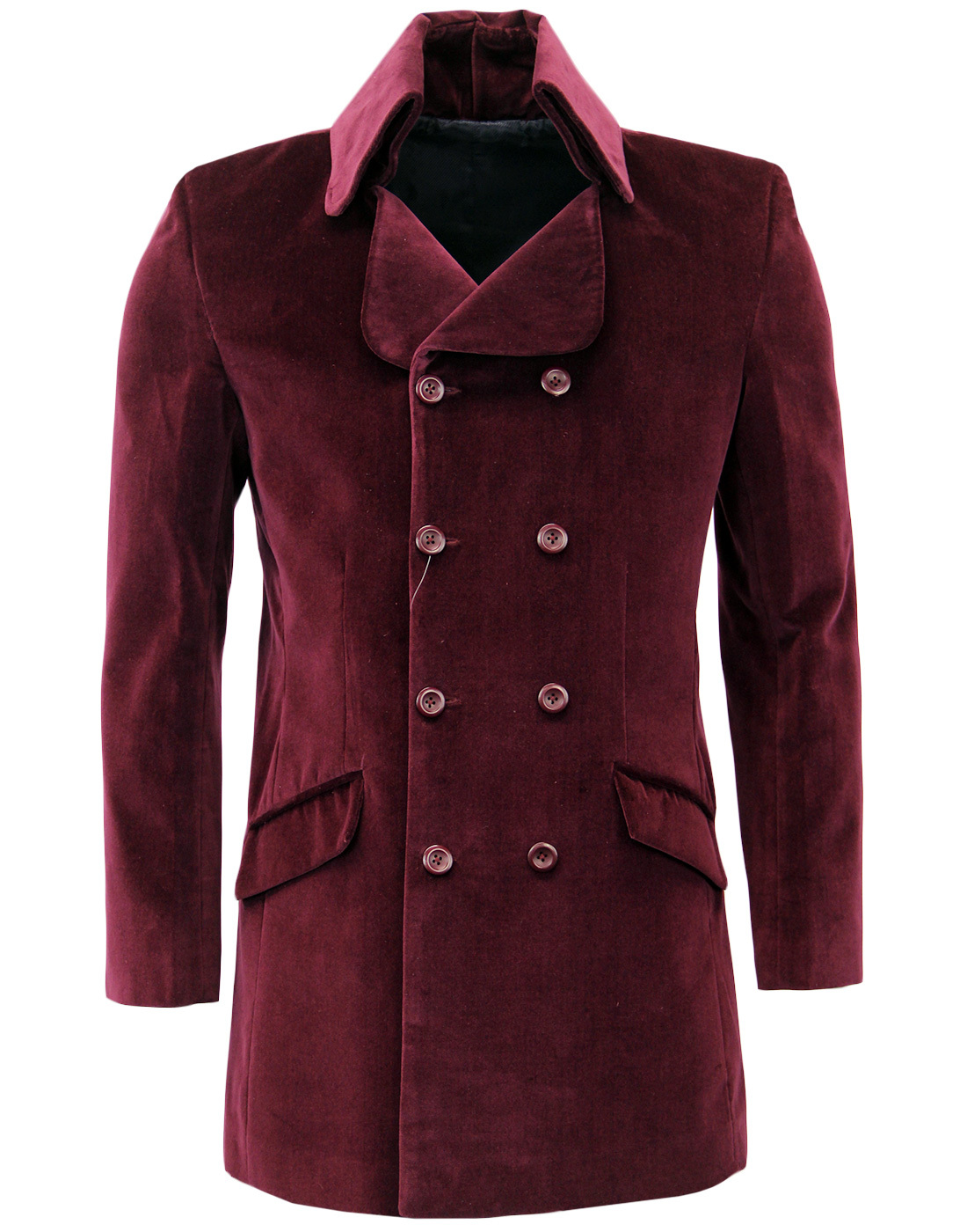 Velvet Goldmine MADCAP ENGLAND High Collar Coat W