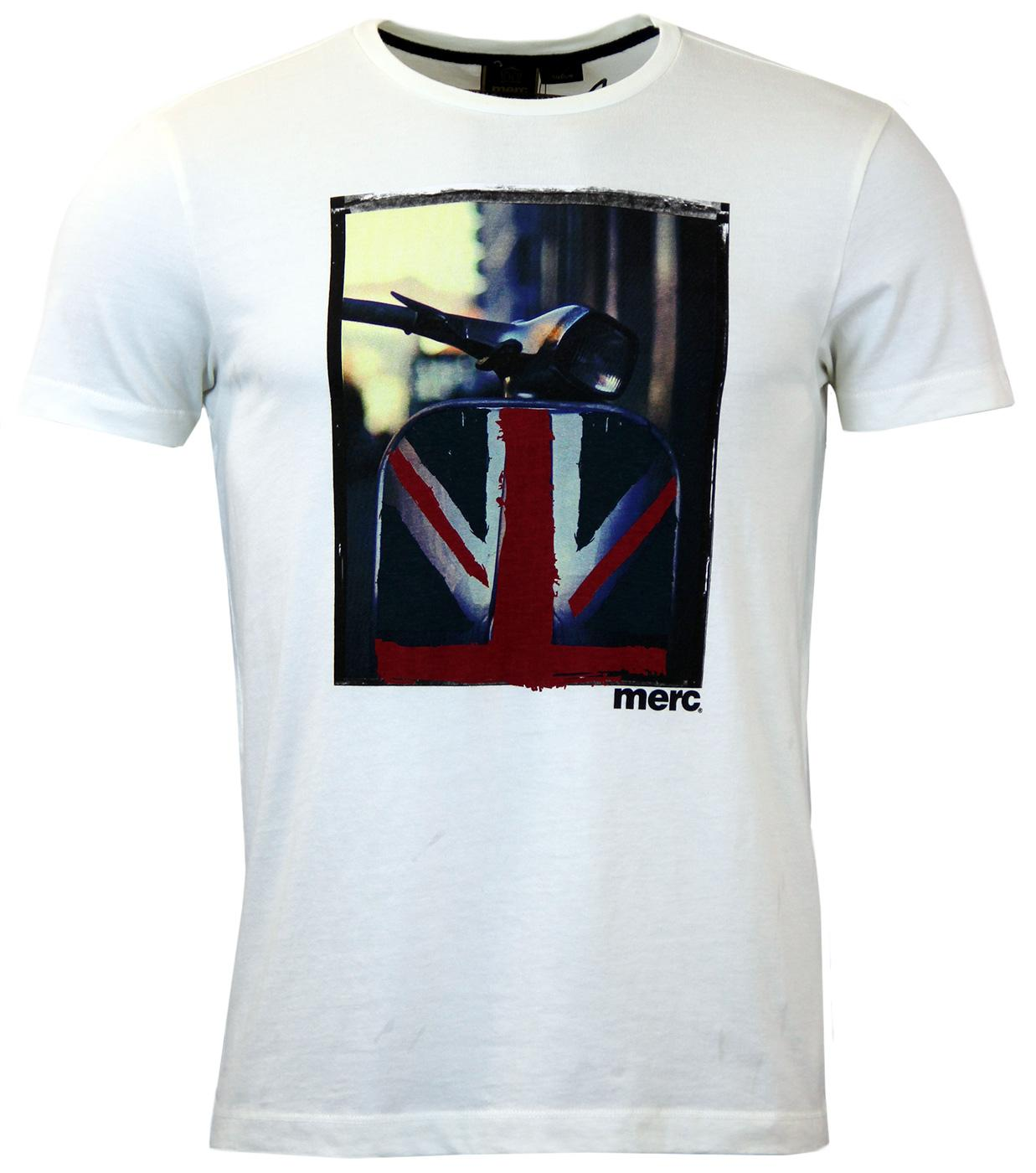 Spinner MERC Retro Union Jack Scooter Photo Tee