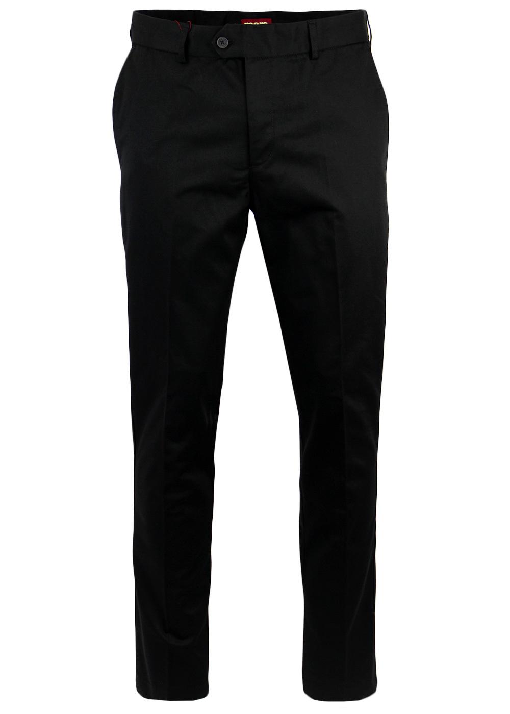 'Winston' MERC Mod Sta Press Retro Mens Trousers B