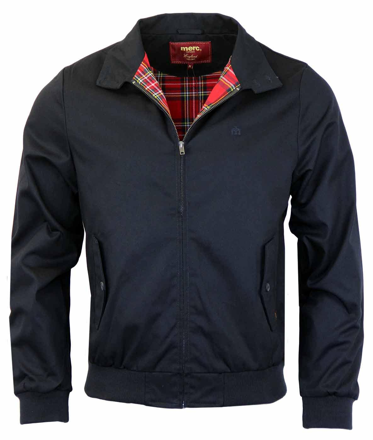 MERC Mens Retro Indie Mod Harrington Jacket (N)
