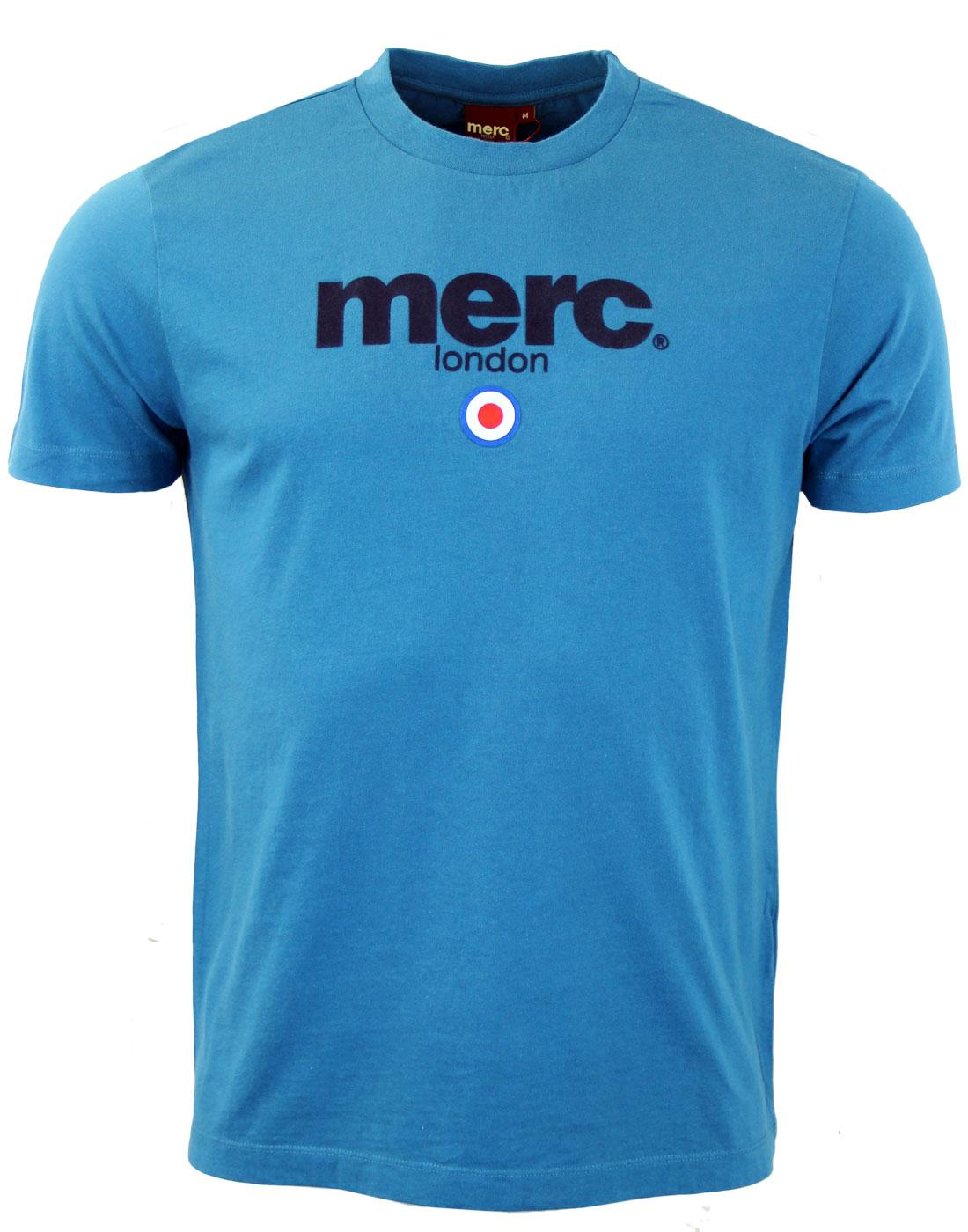 Merc brighton retro mod target signature t shirt for Brighton t shirt printing