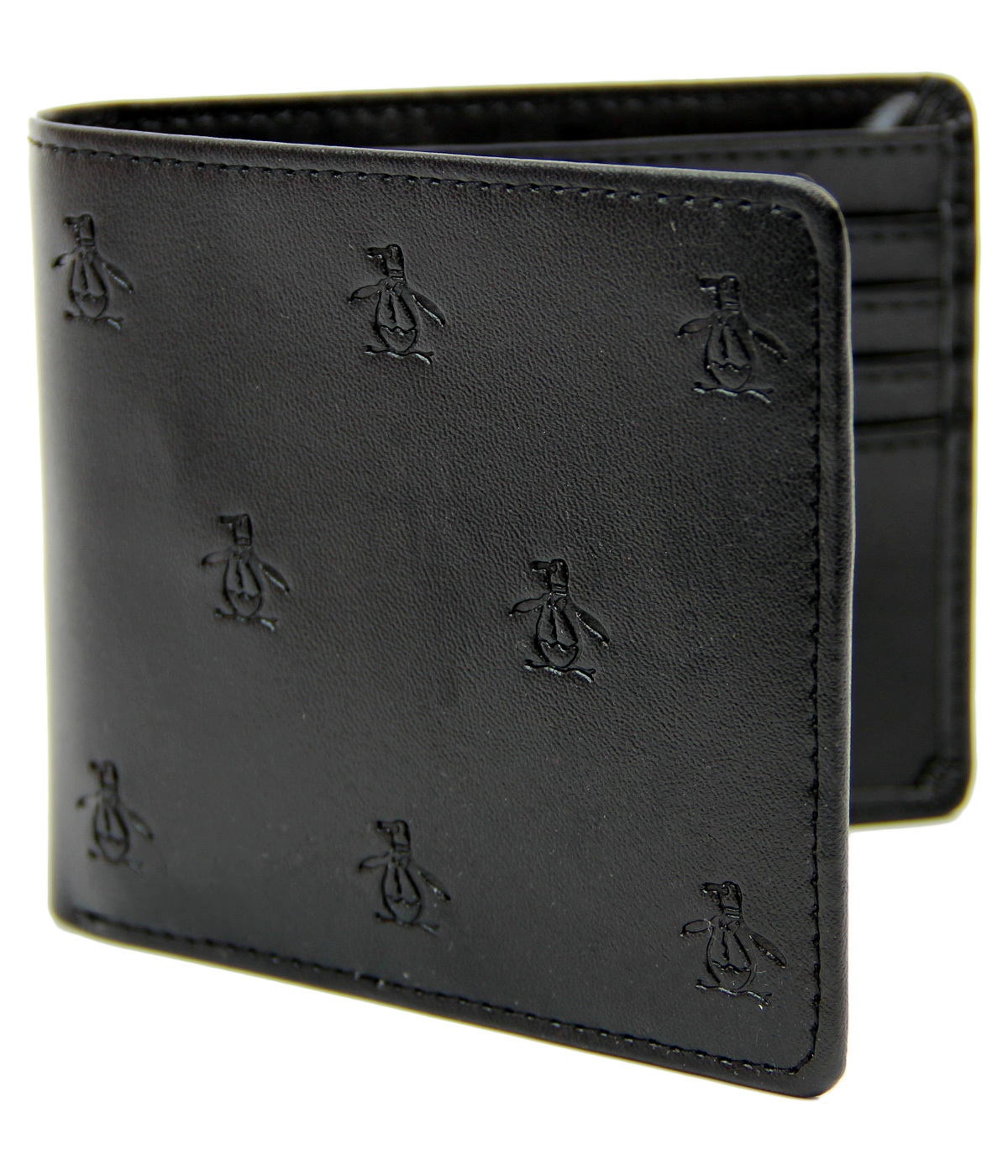 ORIGINAL PENGUIN Retro Mod Debossed Logo Wallet