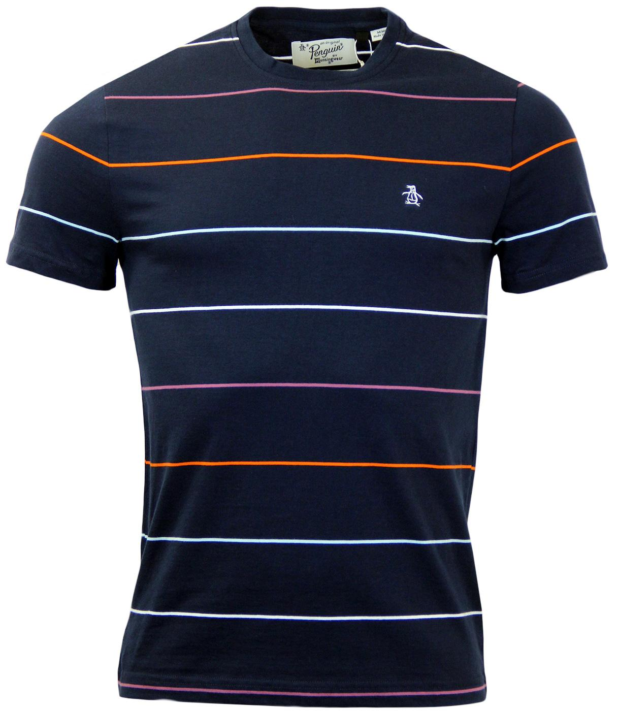 Whittle ORIGINAL PENGUIN Colour Pop Stripe T-Shirt