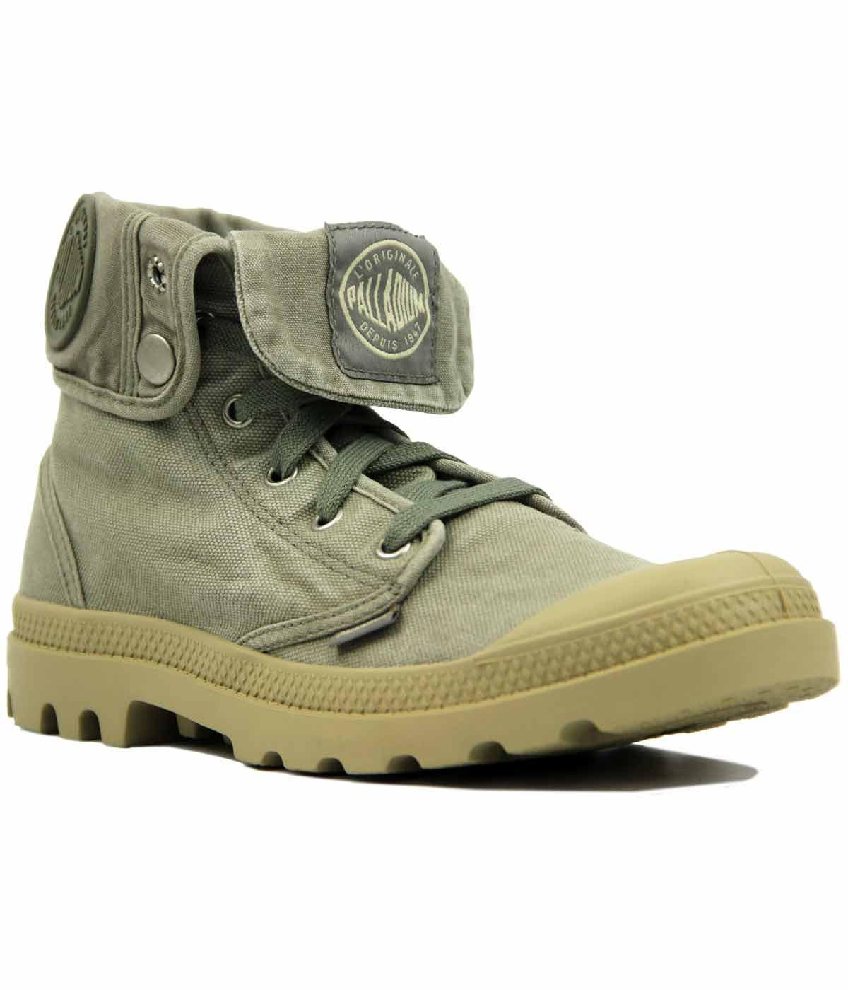 Baggy PALLADIUM Retro Folded Cuff Canvas Boots CP