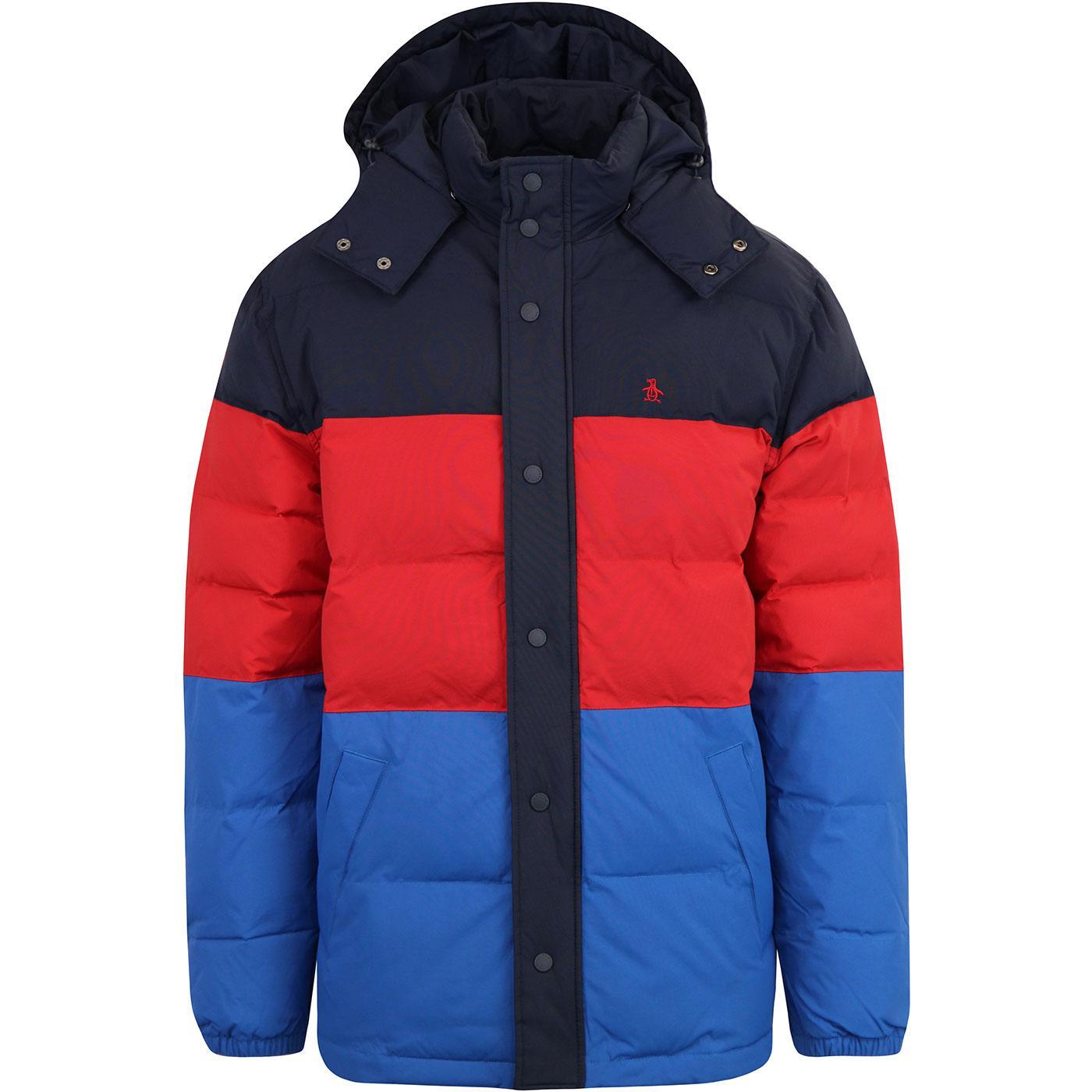 ORIGINAL PENGUIN Men's Retro 70s Ski Puffer Jacket