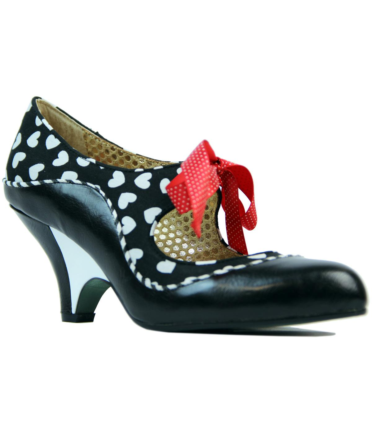 School's Out POETIC LICENCE Retro Love Heart Heels
