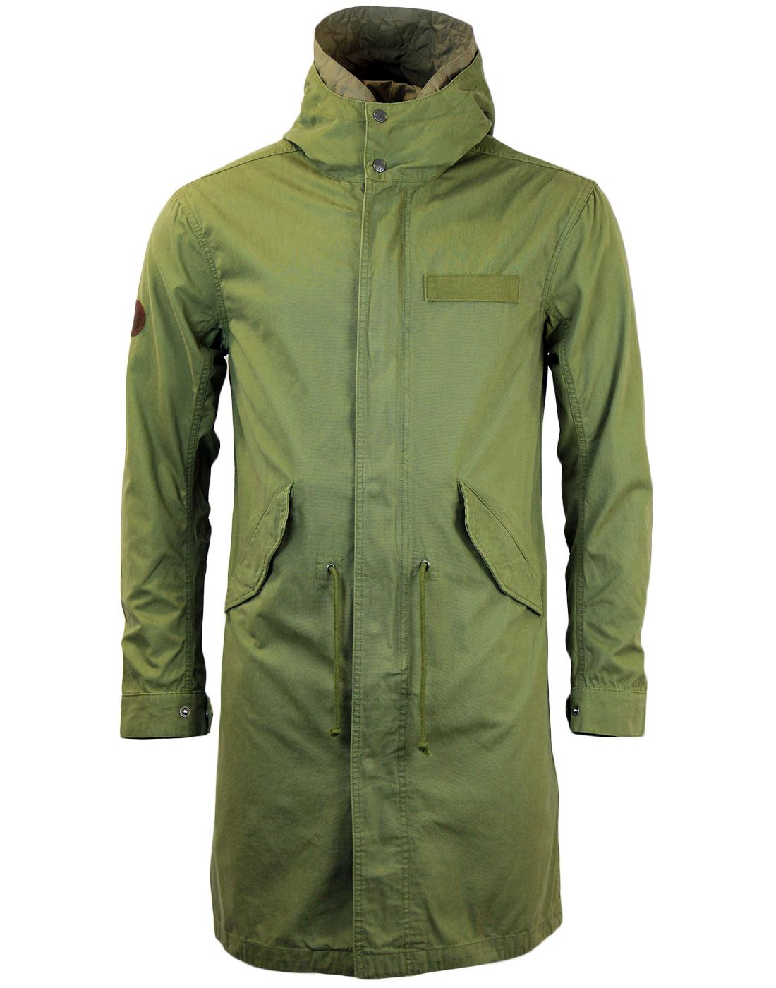 Winchester PRETTY GREEN Retro Mod 60s Parka Jacket