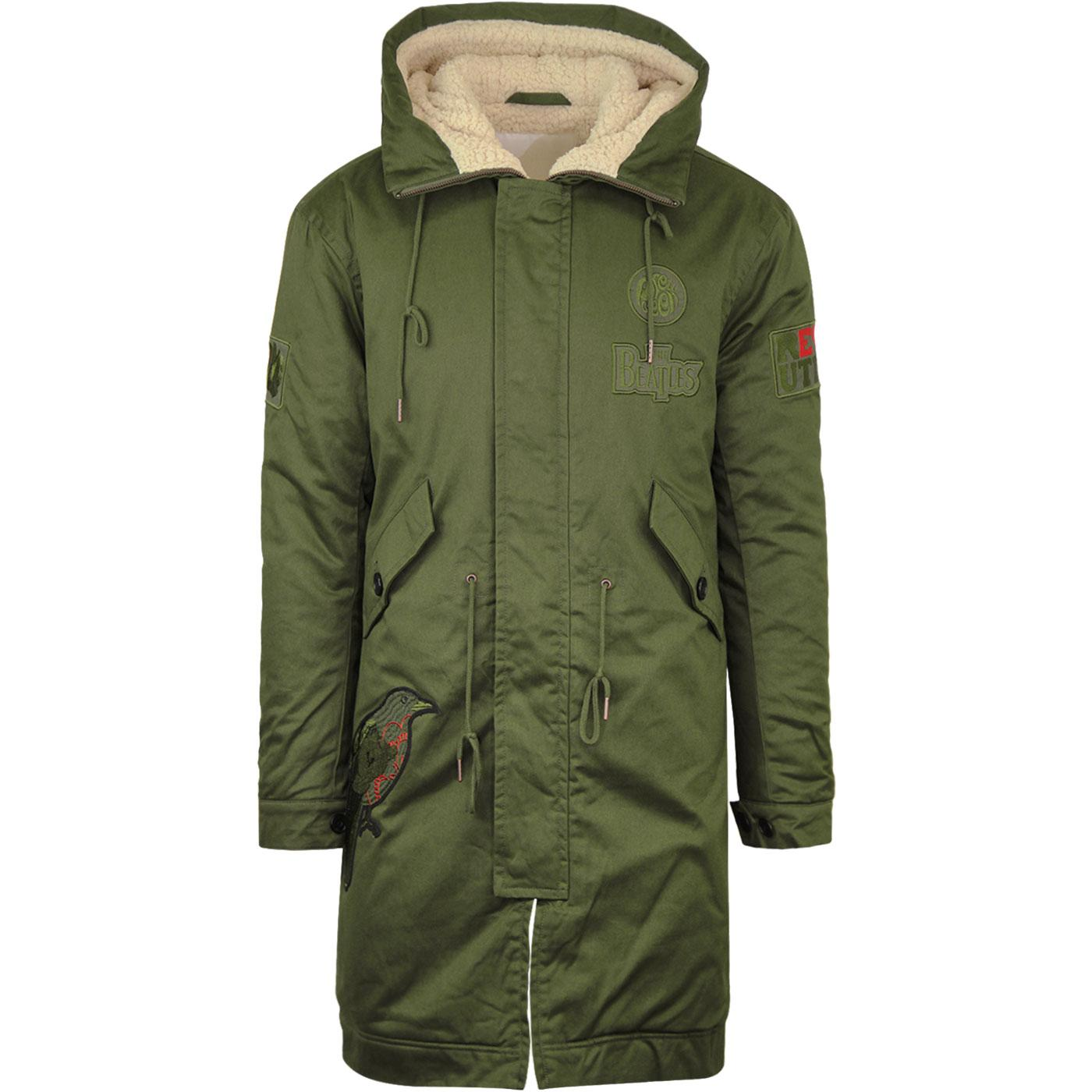 Blackbird PRETTY GREEN x THE BEATLES 60s Mod Parka