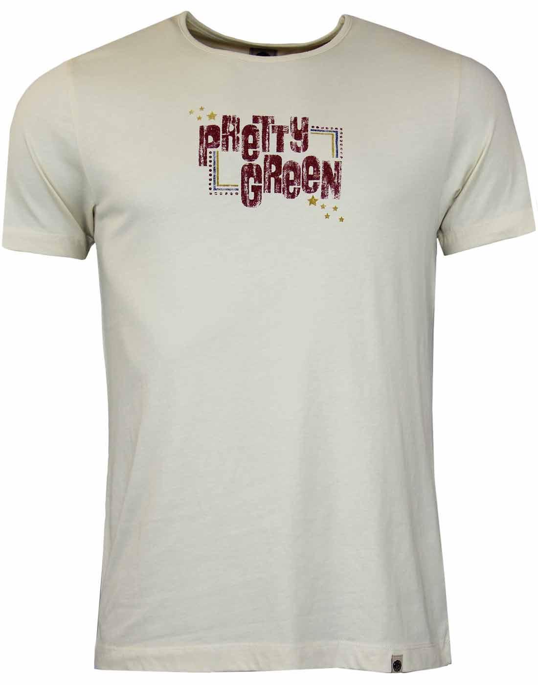 Pretty Green Retro Mod Beatles Hard Days Night T Shirt In
