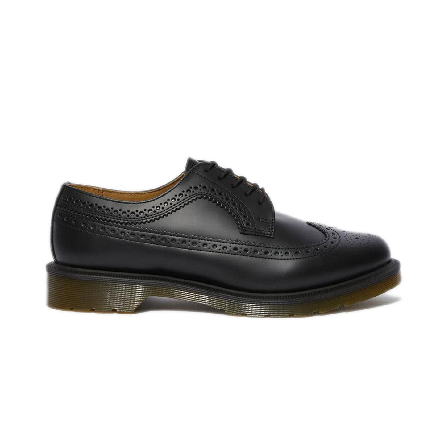 3989 Smooth DR MARTENS Leather Brogue Shoes