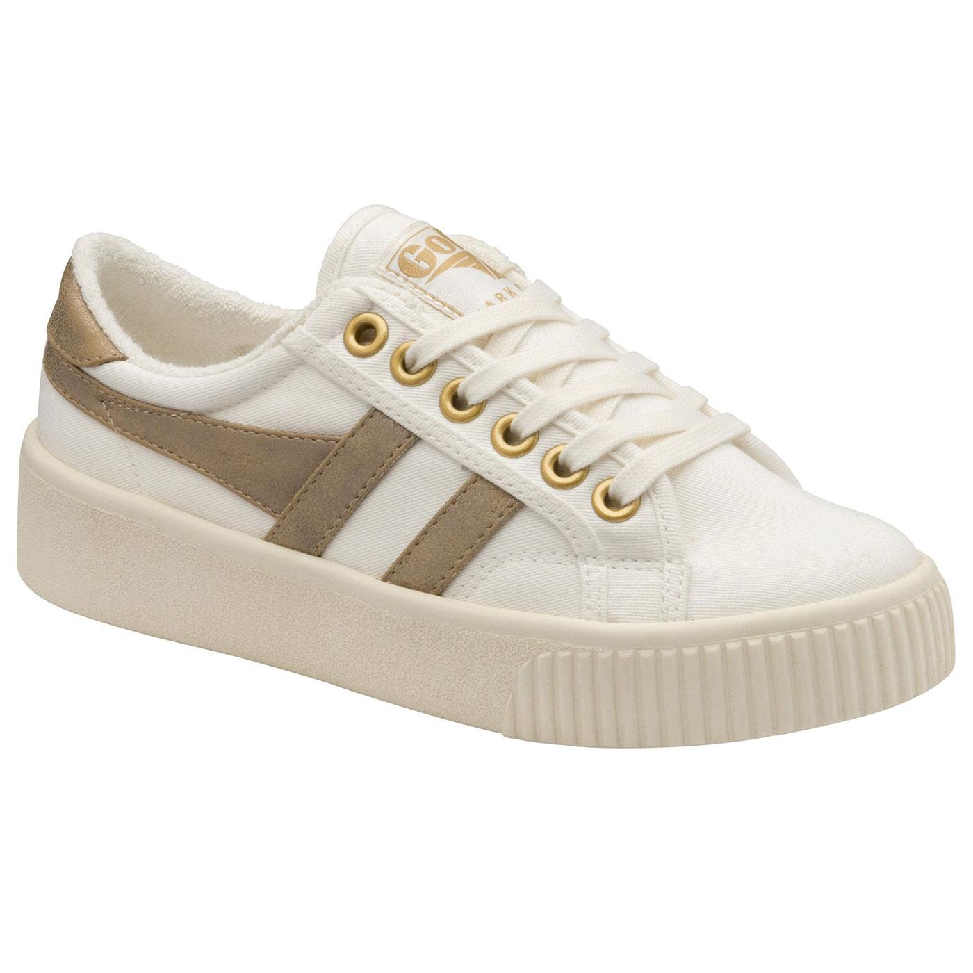 GOLA Baseline Mark Cox Women's 70s Trainers (OW/G)