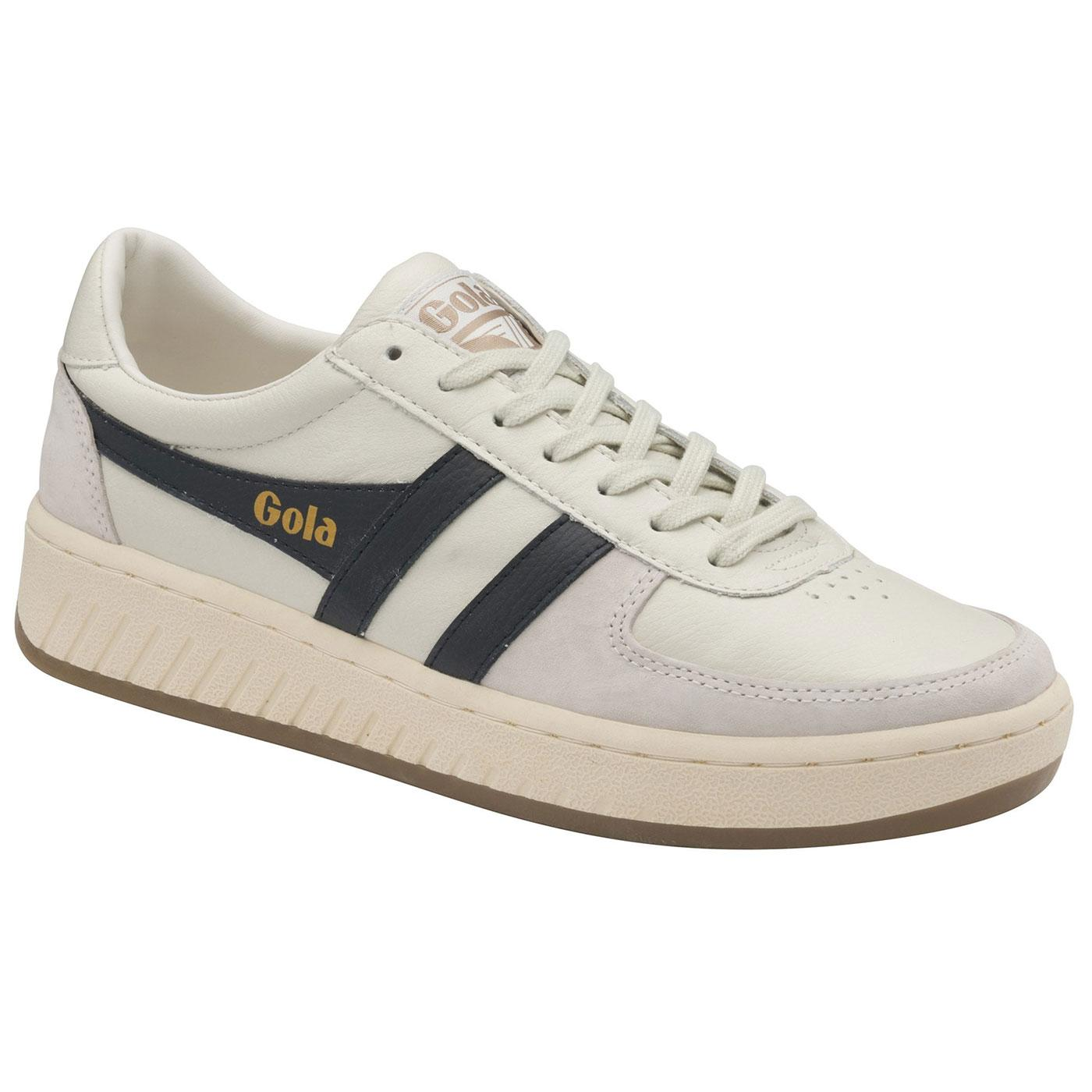 Grandslam 78 GOLA Retro Trainers (Off White/Navy)