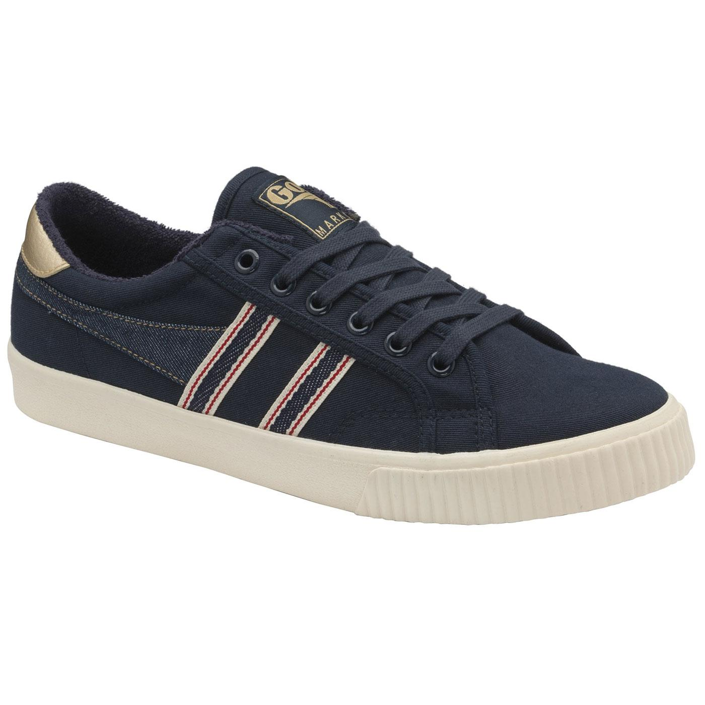 GOLA Tennis Mark Cox Selvedge Trainers NAVY/INDIGO