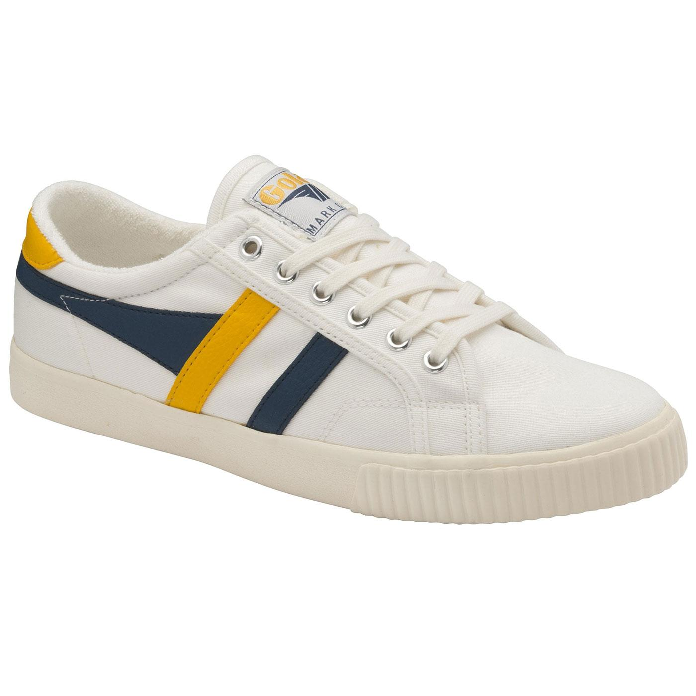 GOLA Tennis Mark Cox Retro Trainers OFF WHITE/SUN
