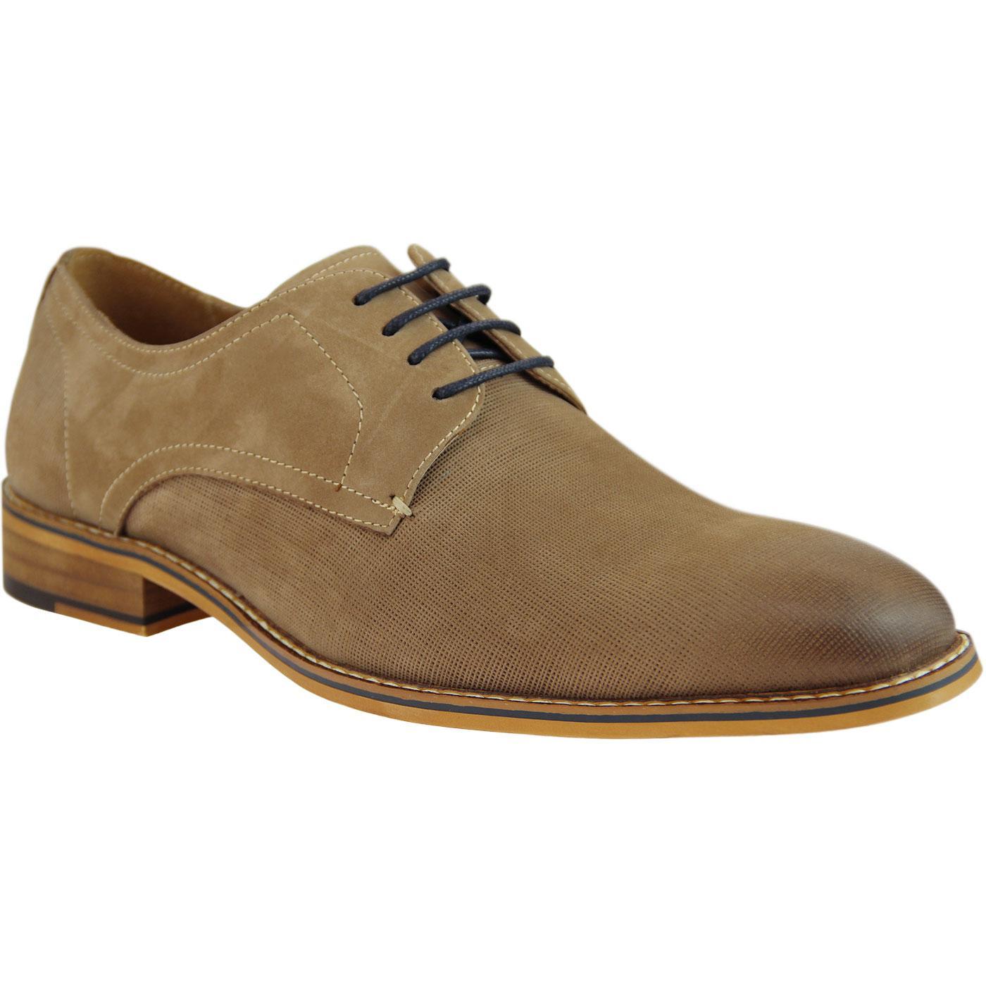 Cedric SERGIO DULETTI Micro Weave Derby Shoes K