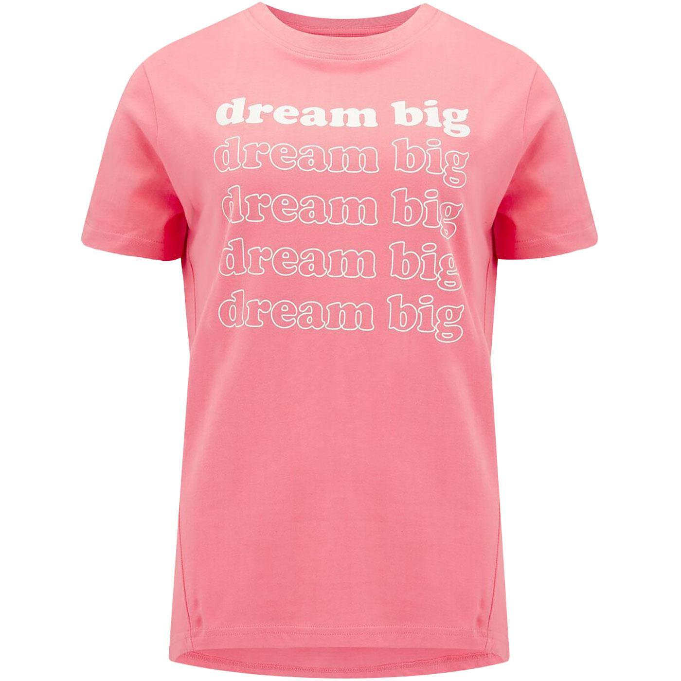 Mimi SUGARHILL BRIGHTON Dream Big Retro Slogan Tee