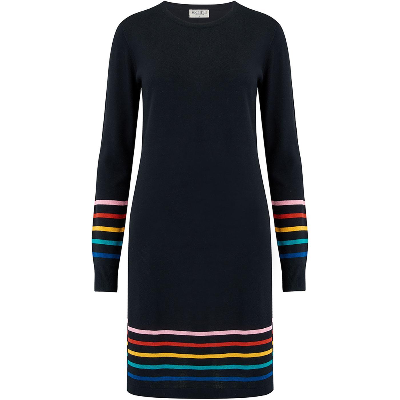 Evie SUGARHILL BRIGHTON Retro 70s Knitted Dress