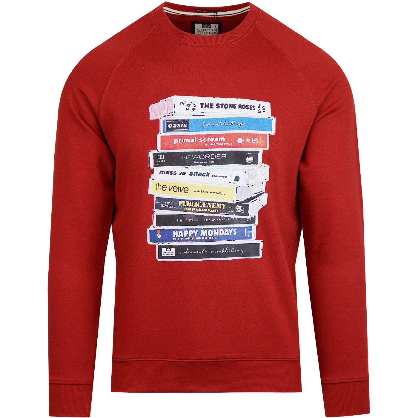 Cassettes WEEKEND OFFENDER Indie 90S Bands Sweat