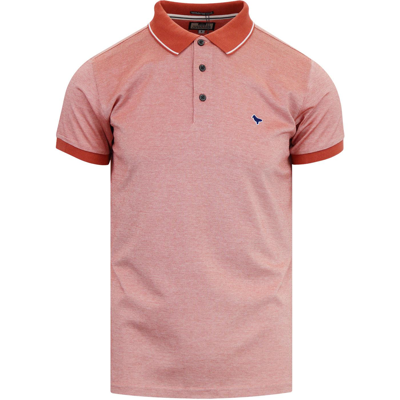 Dell Anna WEEKEND OFFENDER Mod Polo Shirt (Cosmos)