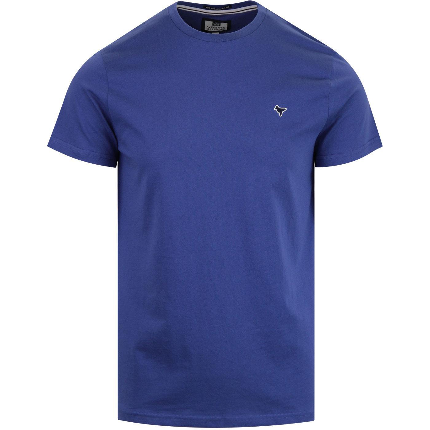 Enzo WEEKEND OFFENDER Retro T-Shirt Reef Blue