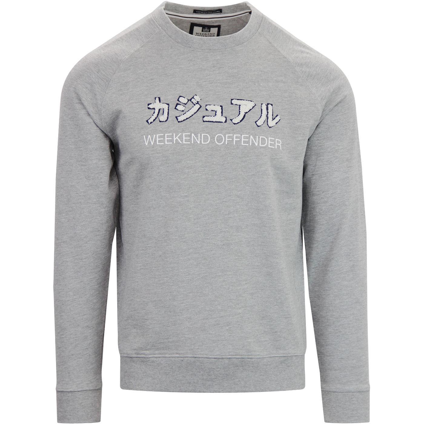 Japan Sweat WEEKEND OFFENDER Retro Sweatshirt (GM)