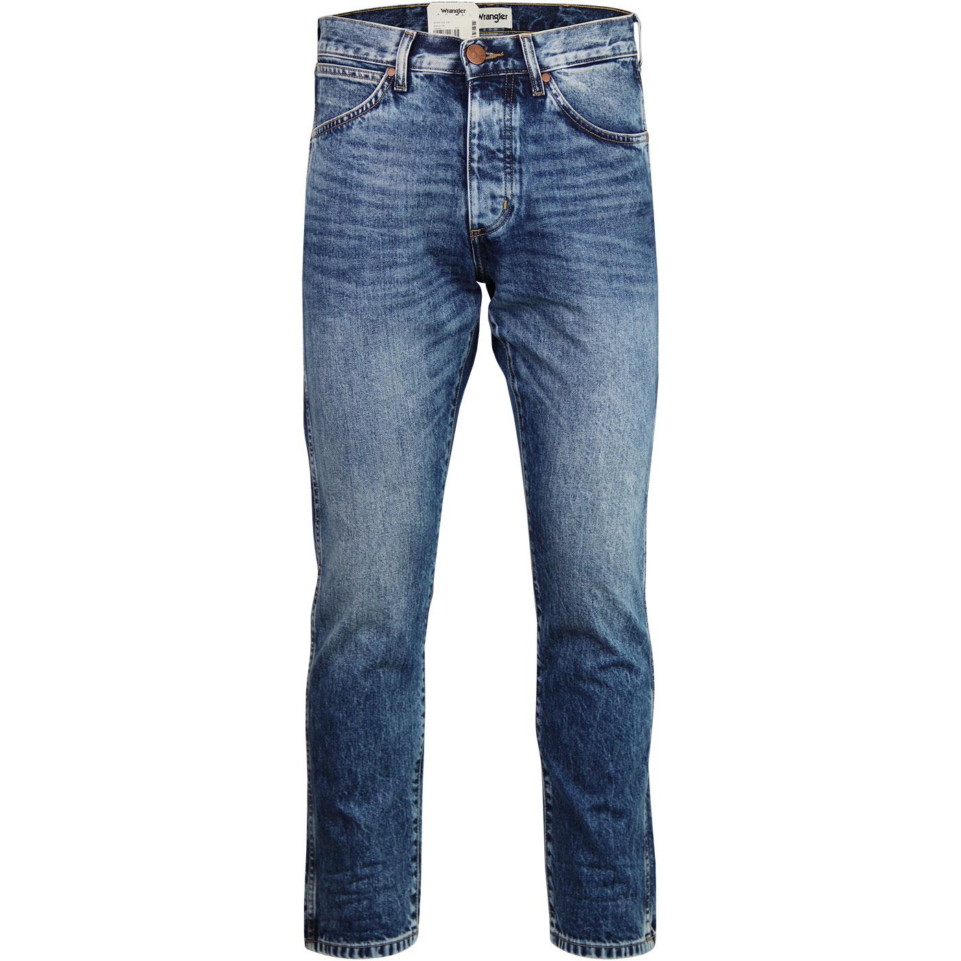 Slider WRANGLER 70s Super Stonewash Jeans BANG ON