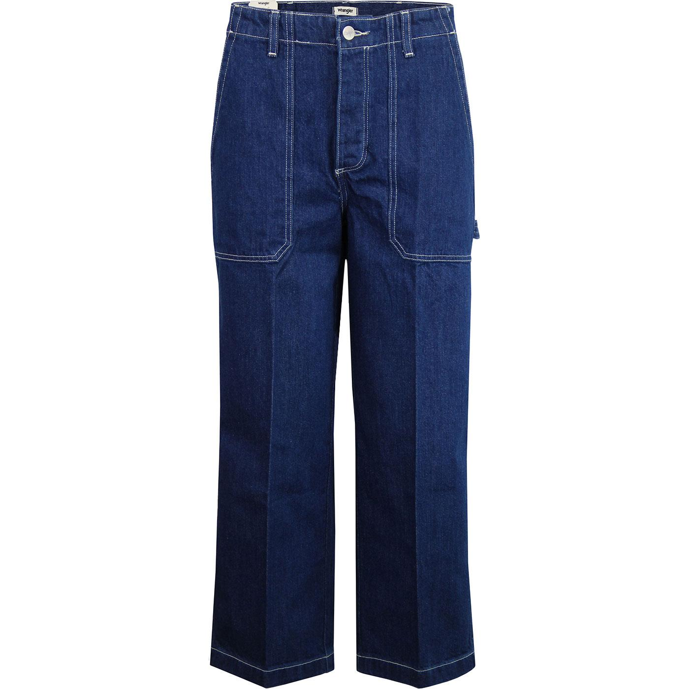 Carpenter Pants WRANGLER Retro 70s Cropped Jeans