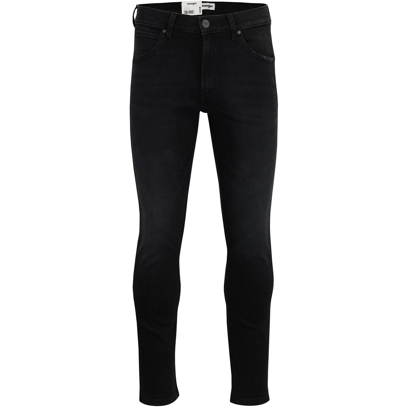 Larston WRANGLER Slim Tapered Jeans BLACK HOOK