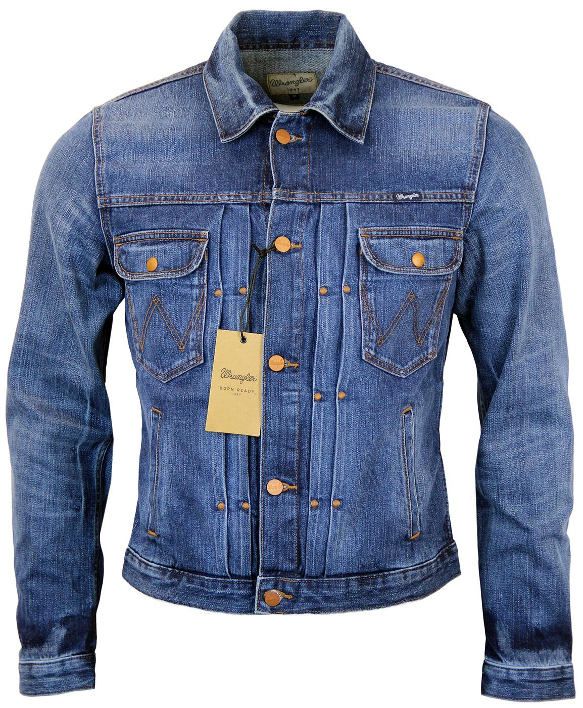 WRANGLER Retro Seventies Mod Denim Jacket (OP)