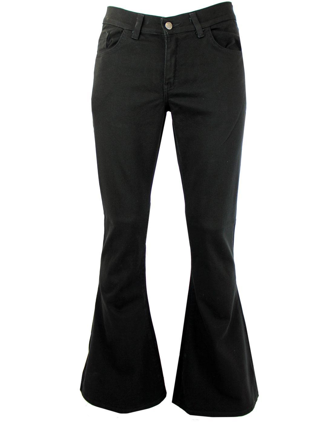 Mens Flares Bellbottoms Flared Jeans Madcap England Flares